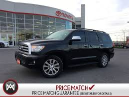 Pre-owned 2010 Toyota Sequoia DVD NAVI 4X4 LAODED in Ontario ...