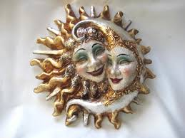 Decorative Venetian Wall Masks Sunmoon large Venetian Masks 60 Venetian Masks 15