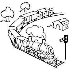 600 x 734 jpeg 57 кб. Toy Train Coloring Page Color Luna