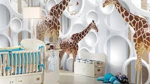 sweet giraffe wall decor nursery sticker head baby print and elephant decorations