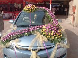 Wedding Car Decorations Accessories Weddign Car Hamirpur Mercedes Rental Hamirpur 54