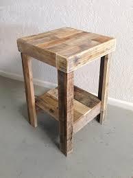 reclaimed wood nightstand. Natural Reclaimed Wood Nightstand