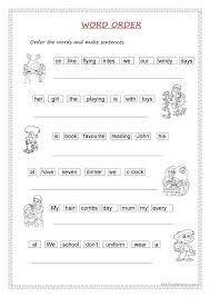 All Worksheets » Sentence Structure Worksheets For High School ...