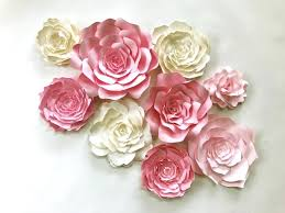 How To Make Big Lotus Flower From Paper Paper Flower Decoration On Wall Giant Paper Flowers Are The Perfect