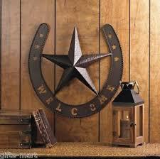horseshoe metal wall art