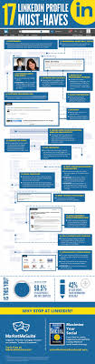 17 Steps To A Perfect Linkedin Profile Infographic Infographic