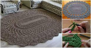 Crochet Oval Pattern Best Decorating Design