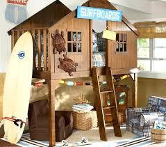 Treehouse Bedroom Ideas Pottery Barn Surf Shack Bed Treehouse Bed Ideas
