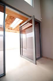 framed pivot doors
