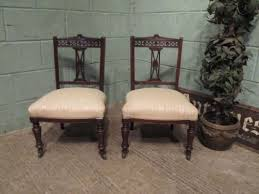 edwardian mahogany bedroom furniture. antique pair edwardian mahogany bedroom nursing chairs c1900 furniture