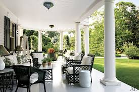 the porch furniture. Southern Porch Inspiration The Furniture