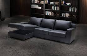j m elizabeth premium grey leather sectional sleeper sofa left hand chase order