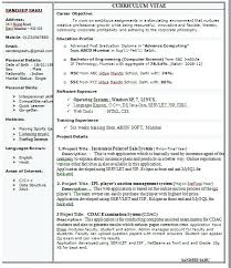1 Page Resume Format Cool One Page Resume Format Doc Yelommyphonecompanyco