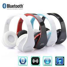 Tai Nghe Bluetooth Không Dây Âm Thanh Stereo + Mic Gấp Được Cho Iphone  Samsung Pc - Tai nghe Bluetooth chụp tai Over-ear