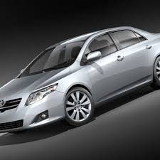 Corolla 3D Models download - Free3D