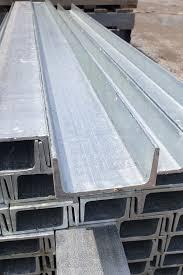 galvanised steel posts sleeper and