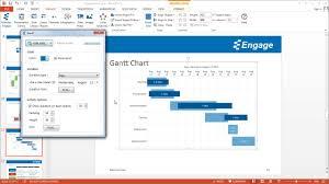 Powerpoint Gantt Chart Add In Create A Gantt Chart Using The Engage Powerpoint Add In