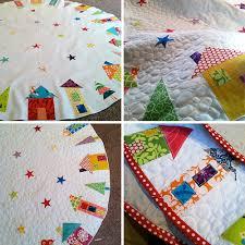 The Hood' : A Christmas Tree Skirt ~ Fresh Lemons Modern Quilts & Tree Skirt Progress Adamdwight.com