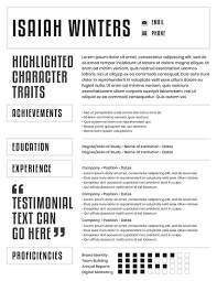 Resume Templates For Visual Resumes The Muse Digital Media