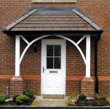 awning ideas front canopy builder bricklaying job in romford es front door canopy glass front door