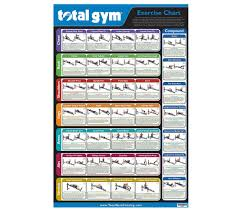 Total Gym Wall Chart Download Total Gym Wall Chart With 35 Exercises Qvc Com