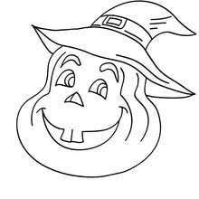 Small Picture Pumpkin black cat and bats coloring pages Hellokidscom