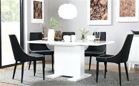 dining chairs white high gloss dining chairs table 6 epic chair tip with additional extending