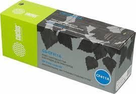 Тонер-<b>картридж Cactus CS-CF411A</b>, голубой, для лазерного ...