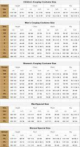 Procosplay Size Chart Procosplay Naruto Shippuden Haruno Sakura Cosplay Costume Mp000132