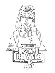 Printable Coloring Pages Of Fortnite Characters Does The V Buck