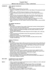 Impressive Library Job Resume Objective For Your Librarian Skills Of