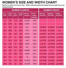 Shoe Size Conversion Chart Women Details About Womens Shoe Size Conversion Chart Us Uk Eu Japanese Printed And Mailed 2 U