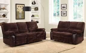 Reclining Living Room Sets Homelegance Caputo Reclining Sofa Set U9711 3