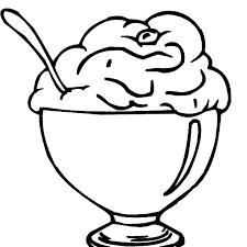 Small Picture Ice Cream for Dessert Coloring Pages Bulk Color