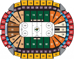 The Most Awesome Xcel Energy Center Seating Chart Seating