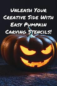 Easy Pumpkin Patterns Simple Ideas