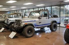 the 1983 jeep cj 8 at the omix ada jeep collection
