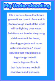 Water Pollution Conclusion