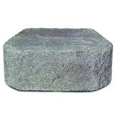diamond 3 way concrete garden wall block