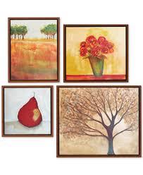 madison park autumn orchard gallery 4 pc framed canvas print set on autumn tree set of 3 framed wall art prints with madison park autumn orchard gallery 4 pc framed canvas print set