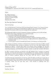 Pharmacy School Cover Letter Example Fresh Cover Letter For Pharmacy