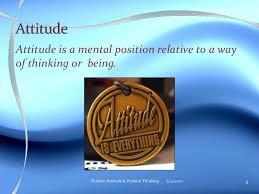 positive attitude ppt attitude