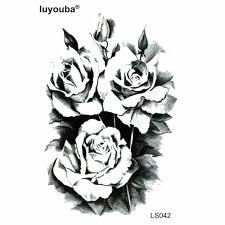 Krása Strom Pivoňka Vodotěsné Dočasné Tetování Muži Květina Tetování Děti Harajuku Henna Tetování Těla Umění Nálepka Tatuagem Grande