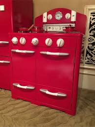 Pottery Barn Retro Kitchen Pottery Barn Kids Playroom Red Retro Kitchen Stove Oven For Sale