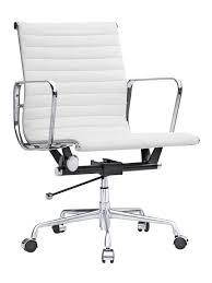 mid aluminum office chair white italian. White Instant Publicist Mid Aluminum Office Chair Italian