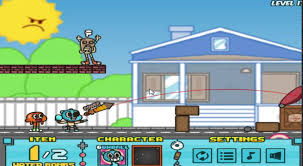 the amazing world of gumball water sons gumball games