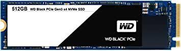 WD <b>Black</b> 512GB Performance SSD - 8 Gb/s <b>M</b>.<b>2</b> 2280 PCIe NVMe ...