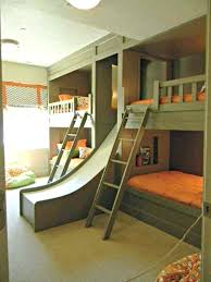 wonderful bedding gorgeous bunk beds with slide kids bed for throughout children decor toddler girl toddlers loft bed with slide