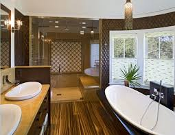 beach house bathroom design. Brown Color Beach House Bathroom Design E