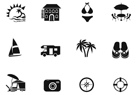 Summer Icons Summer Brush Icons Pack Free Photoshop Brushes At Brusheezy